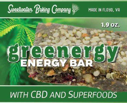 Greenergy Energy Bar (label)